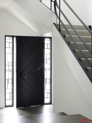 herringbone front door design