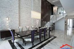 contemporary dining room with marble floors I G ISdg53z70b13971000000000 CpkDF