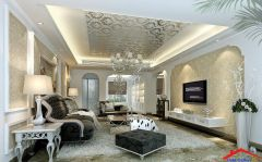 traditional living room with wallpaper And crown molding I G ISp1qihinwxtg91000000000 QIcCp