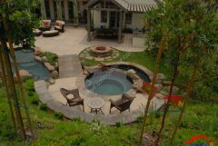 rustic patio with pergola And Lap pool I G IS5ab1a55x4bhx1000000000 hSLJ2